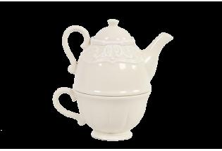 Rinkinys arbatai vienam 11.5*17.5 cm