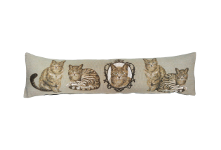 Pagalvėlė Cats Licht grey 25*90