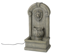 Dekoratyvinis fontanas liūtas
