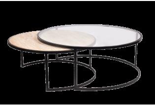 Kavos staliukas apvalus