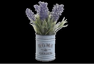 Dirbtinė gėlė Levanda vazonėlyje