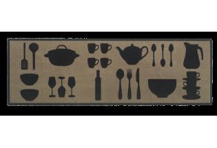 Kilimėlis Cook&Wash DishesTaupe0.50*1.50
