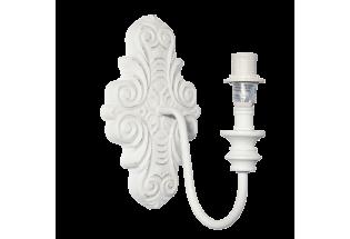 Sieninis šviestuvas baltas