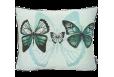 Pagalvėlė Butterflies blue backgrnd40*50