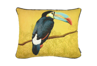 Pagalvėlė Toucan blue beak yellow 40*50