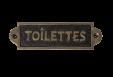 Lentelė tualeto
