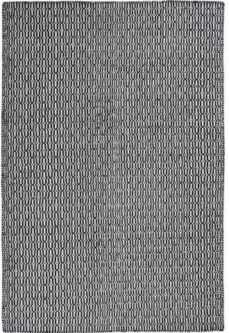 Kilimas Tile 1.40*2.00 wh/black