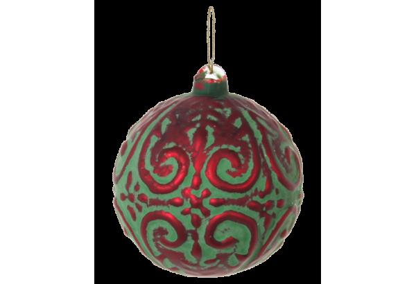 Burbulas dekoratyvinis kalėdinis 8cm