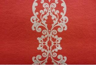 Raudonas kilimas GlamourDes-3751 1.33m
