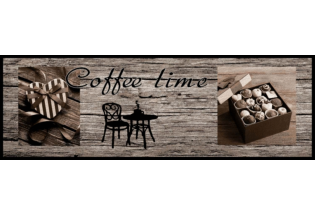 Kilimėlis Cook&Wash Coffee time wood 0.50*1.5