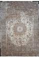 Kilimas Felicia Carlucci silver-noisette 1.55*2.30