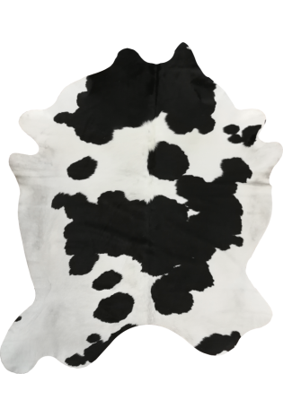 Kailis Cowhide Natural 2.30*1.93 Natural black