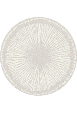 Kilimas Softness 1.35*1.35 silver/cream