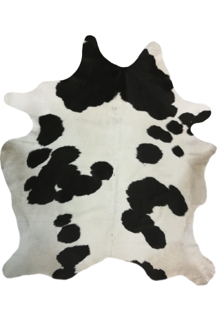 Kailis Cowhide Natural 2.15*2.40 natural black brown