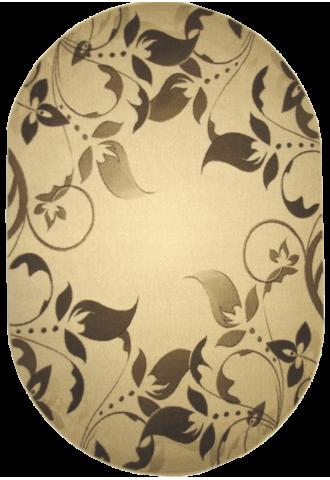 Kilimas Klasik 1.20*1.70 l.beige/d.cream oval