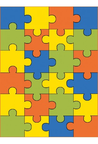 Kilimas Weliro Puzzle Terakota 1.20*1.70