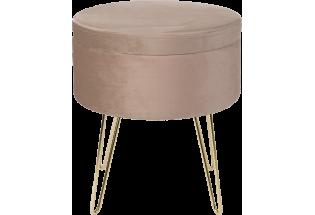 Staliukas Glamour stool 100*100 beige