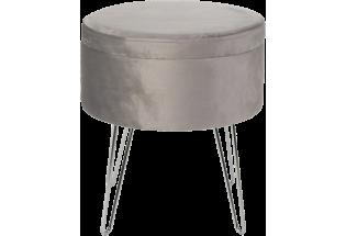 Staliukas Glamour stool 100*100 grey
