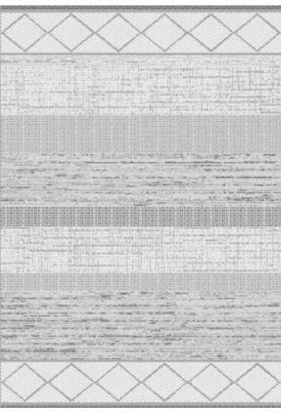 Kilimas Tweed 0.67*1.30 white/bl