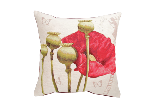 Pagalvėlė Fushia poppies/1 flower
