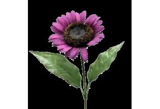 Dirbtinė gėlė Saulėgrąža violetinė