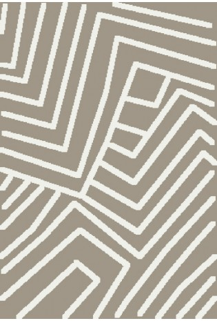 Kilimas Blizz 0.80*1.50 beige/white