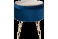 Staliukas Glamour stool 100*100 navy
