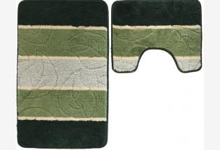 Vonios kilim Liscie 0.5*0.8c.ziel kompl
