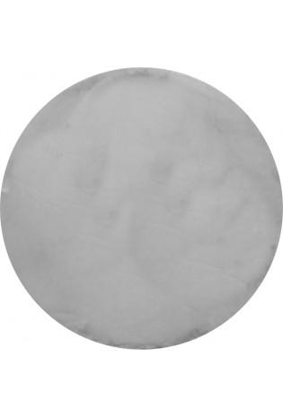 Kilimas Bellarossa 1.10*1.10 grey apvalus