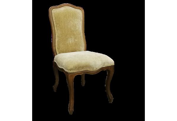Kėdė YHB303 ruda gobelenas rusvas/pilkas