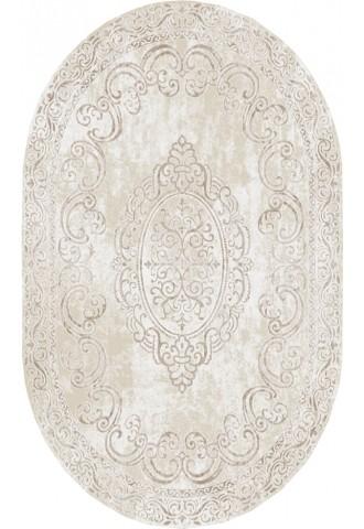Kilimas Dizayn 1.60*2.30 c.beige/d.beige oval