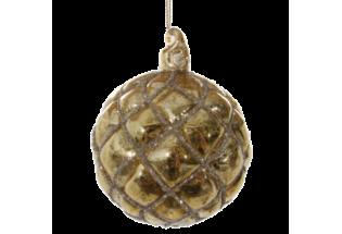 Burbulas dekoratyvinis 8cm (kalėdinė)