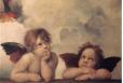 Gobel. Angels by Raffael 0.7*1.09 por.