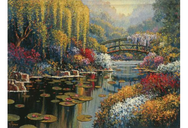 Gobelenas Giverny Pond 131.5*96 por