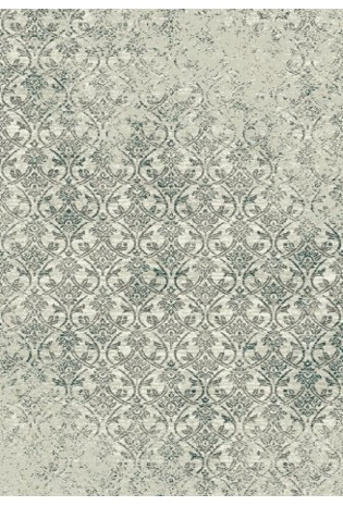 Kilimas Micro Softness 1.20*1.70 pearl white/saphire blue