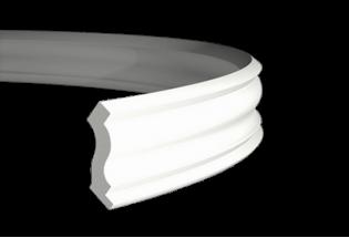 Karnizas profilis lankstus 1.50.103