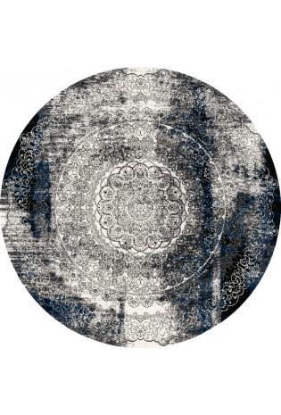 Kilimas Splendor currus 1.33*1.33 black apval