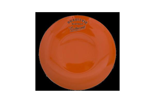 Lėkštė diam21 oranžinė