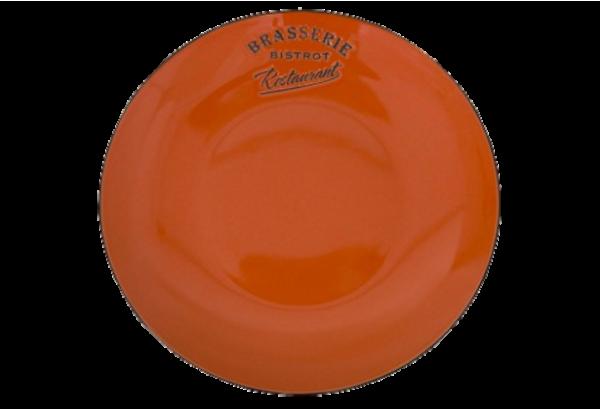 Lėkštė oranžinė diam 27