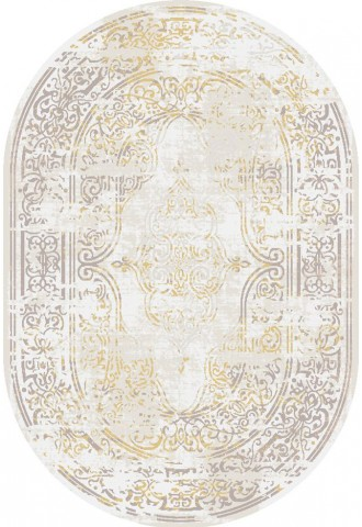 Kilimas Pera 0.80*1.50 c.beige/gold oval