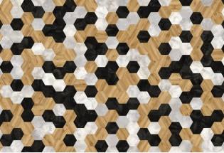 Vinilinės grindys lentelėmis MOODS Hexagon 260