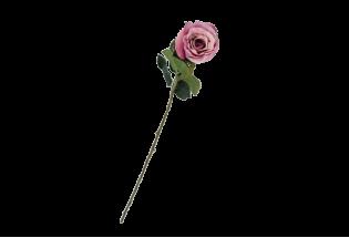Dirbtinė gėlė rožė purple