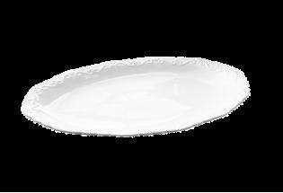 Lėkštė ovali porcelianinė