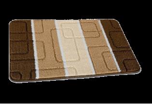 Vonios kilim Geometria 0.5*0.8 c.bez