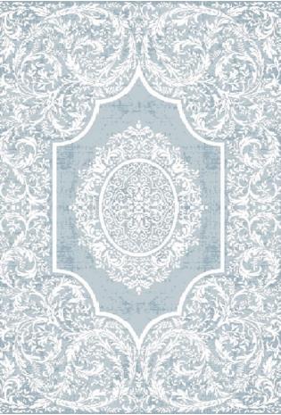Kilimas Vals 1.20*1.80 L blue/ Ivory