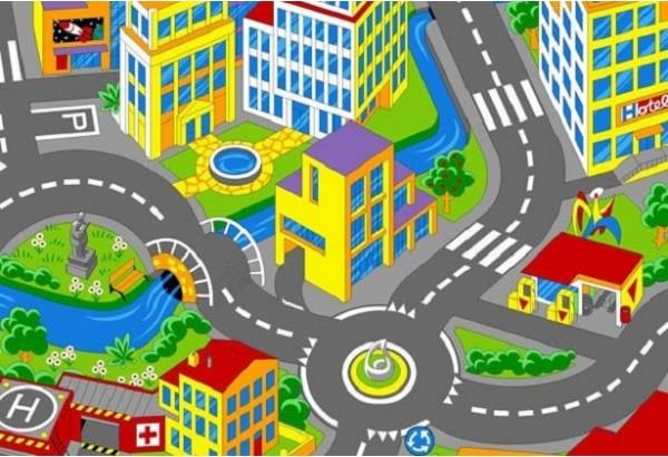 Kiliminė danga Smart City-97 4m keliai