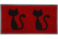 Kilimėlis Emotion XS cats red 0.40*0.80