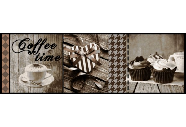 Kilimėlis Cook&Wash CoffeeTimeT0.50*1.5