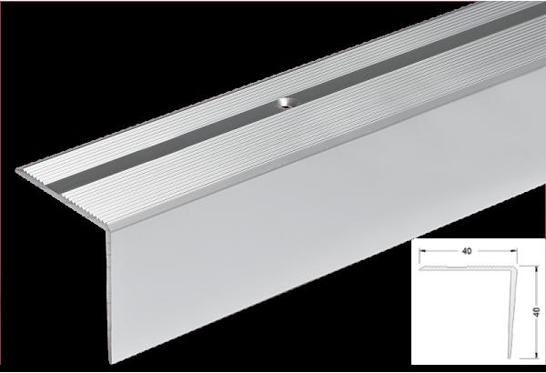 Kampas laiptams aliuminis 40x40mm 300cm