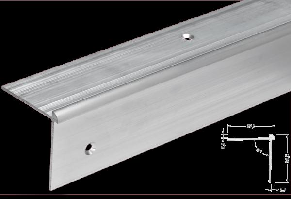 Kampas laiptams aliuminis LVT 2.8mm 300
